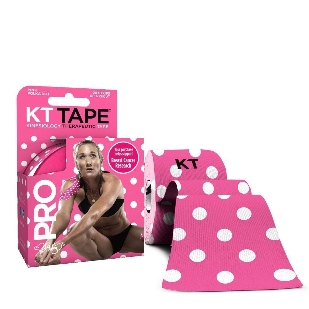 Roll of 20 Strips KT Tape Kinesiology Therapeutic Body Tape Pink