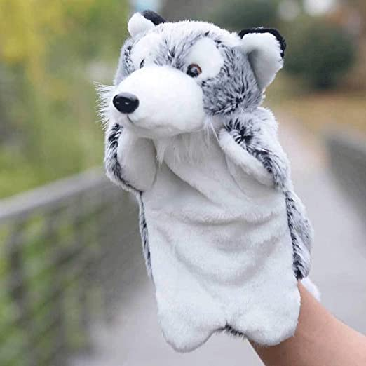 Poooc Puppet giocattolo dei bambini Puppet del lupo del