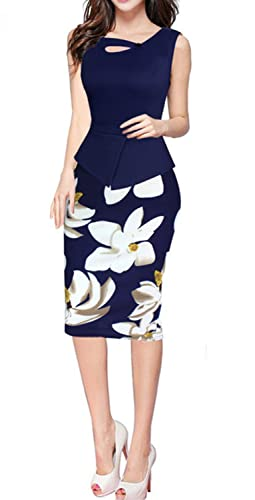 HIMONE Women's Elegant Chic Bodycon Formal Dress