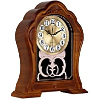 Mantel Clock, Silent Mantle Clock for Living Room Décor , Battery Operated Mantle Clock for Fireplace Mantel, Office…