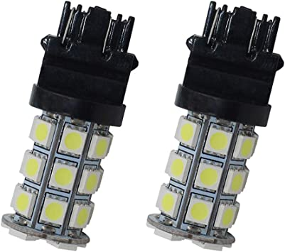 T25 27-SMD 5050 LED 3157 Car Tail Brake Stop Parking Light Bulb Green 12V