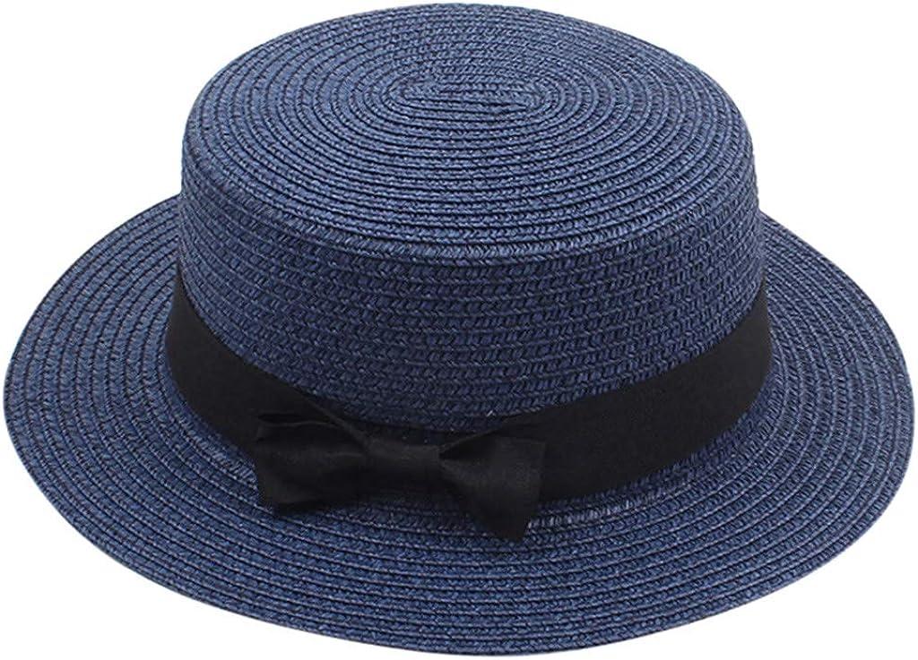 Darringls Sombrero de Paja, Sombrero de Paja Modelo Trilby Summer ...