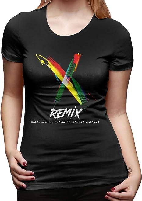 WoodWorths Nicky Jam & J Balvin - Camiseta de manga corta ...