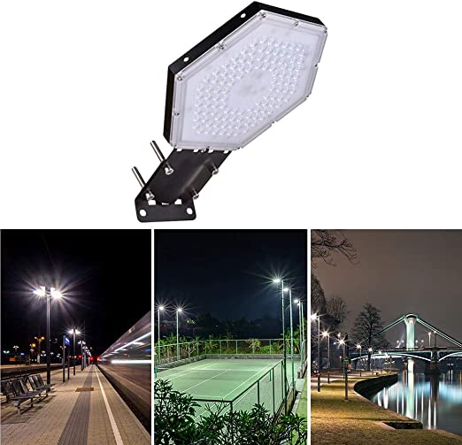 50W Mastleuchte Straßenlampe IP65 LED Straßenbeleuchtung Strassenlaterne Außen