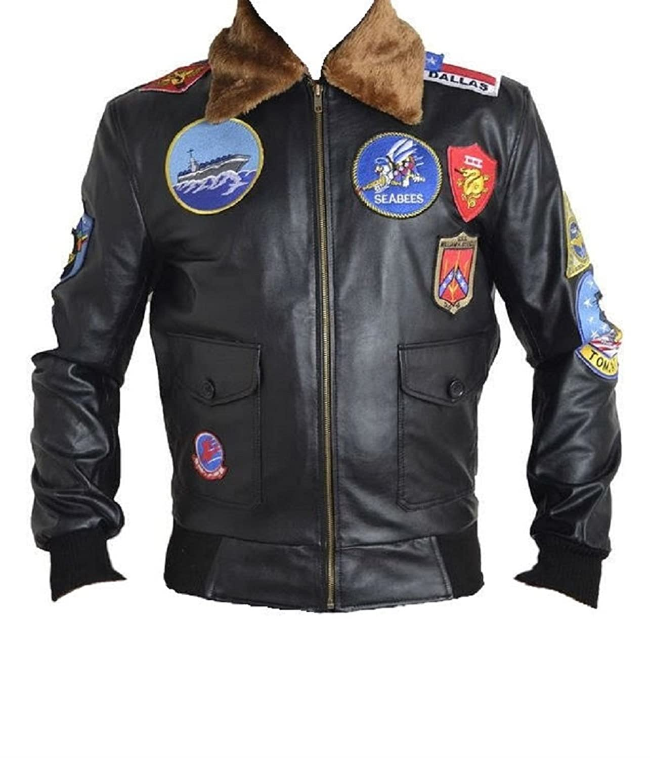 Men's Top Gun Real Leather Jacket