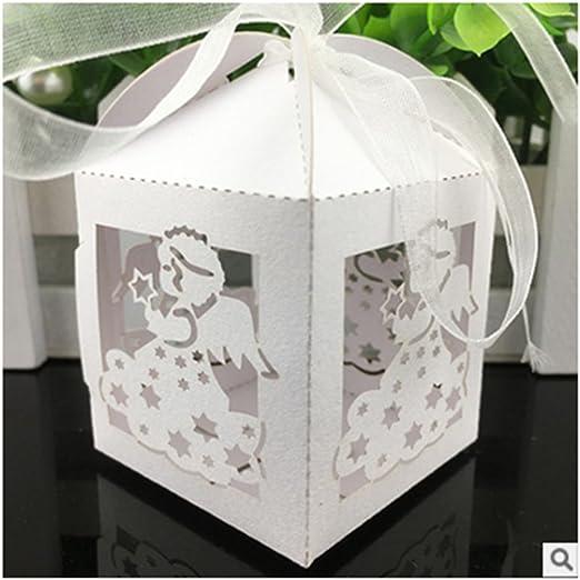 50 Piezas Cajas de Caramelos Dulces Bombones Cajas de Papel para Regalo Recuerdos Invitados de Boda Bautizo Comunión Fiesta Cumpleaños Decoración: Amazon.es: Hogar