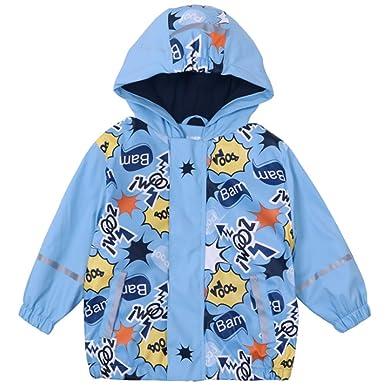 Verschiedene Größen Kinder Matschanzug Regenjacke Jacke 92 0Nnwm8