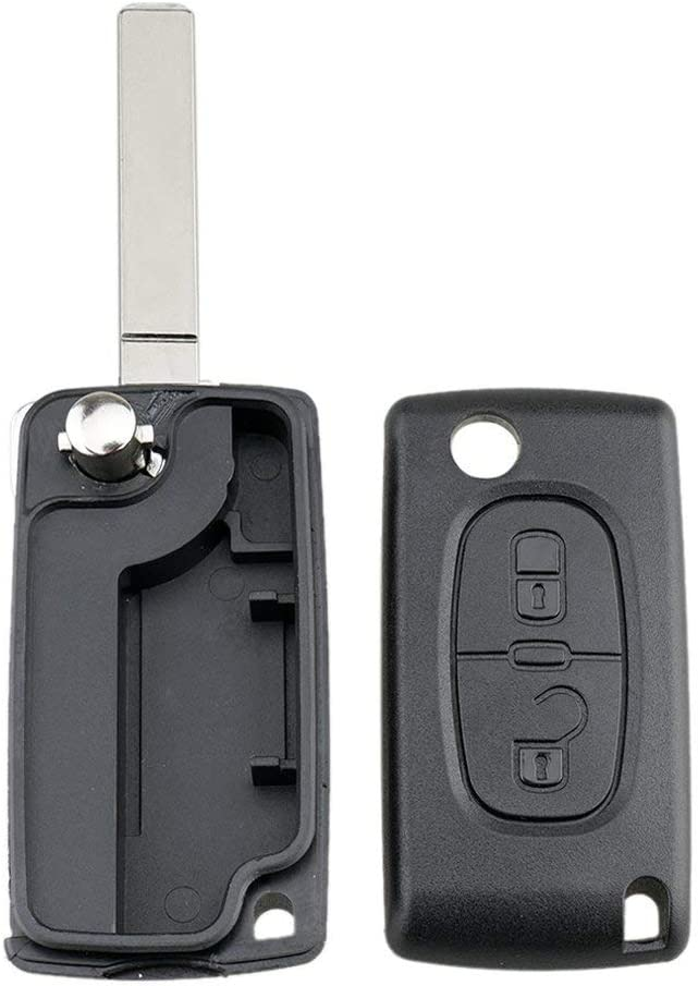 01B Fits For Citroen C2 C3 Xsara Picasso C4 2 Button Key Fob Remote Case Va2 Blade Shell Cover Key Protector Kaemma