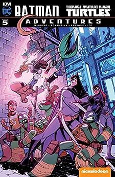 Batman/Teenage Mutant Ninja Turtles Adventures #5 by [Manning, Matthew]