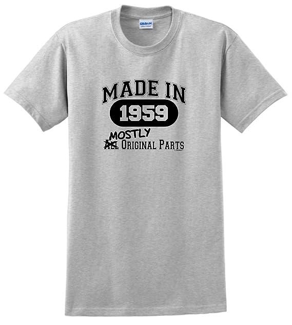Amazon.com: 60th regalo de cumpleaños Made 1957 mostly ...