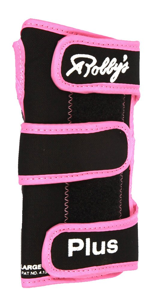 Robby's Coolmax Plus Right Wrist Support, Black/Pink, Large by Robby's