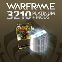 Warframe: 3210 Platinum + Triple Rare Mods     - Amazon com