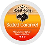 Roast Ridge Single Serve Coffee Pods Compatible with Keurig K-Cup Brewers, Salted Caramel 100 Ct.