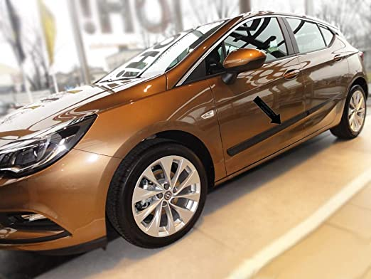 Spangenberg 370002403 - Listones de protección Lateral para Opel Astra K (Modelos a Partir de 06.2015- F24), Color Negro: Amazon.es: Coche y moto
