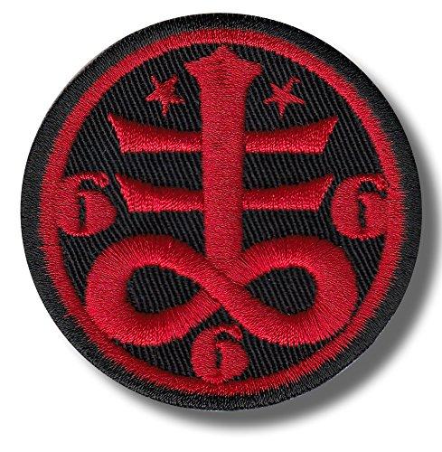 Occult satanic symbol - embroidered patch, 6x6 - Satanic Shop