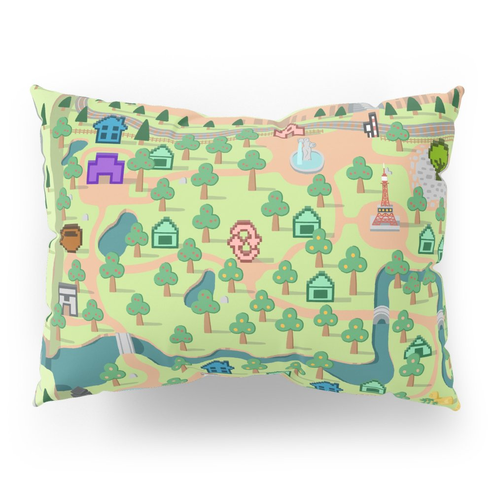 Society6 Animal Crossing Pillow Sham Standard (20'' x 26'') Set of 2