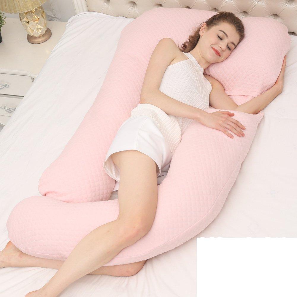 HDSGFDSHGK pregnancy pillow waist side sleeping pillow pillow u-type multifunctional pillow summer sleeping pillow sleeping pillow on the side waist cushion -E 150x75x18cm(59x30x7inch)