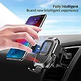 Baseus Car Wireless Charger Smart Vehicle Bracket Wireless Charger Black