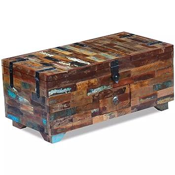 Xingshuoonline Coffre Table Basse Solide, Durable et Magnifique Bois ...