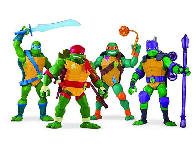 Tuab3110 Leonardo Tortugas Figura Ninja Las MutantAmazon De es qUVMpSzG