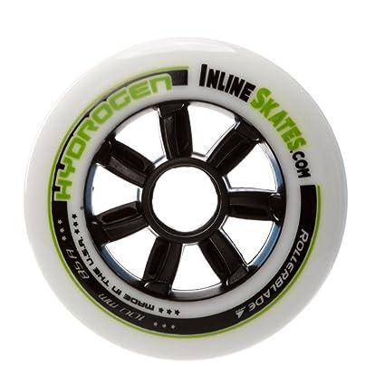 Rollerblade – Ruedas para patines en línea de hidrógeno 100 mm/85 A) Custom
