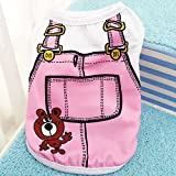 Dog Vest Dog Clothes Fashionable 3 Colors S/M/L Pet Coat Clothing Public Occasions