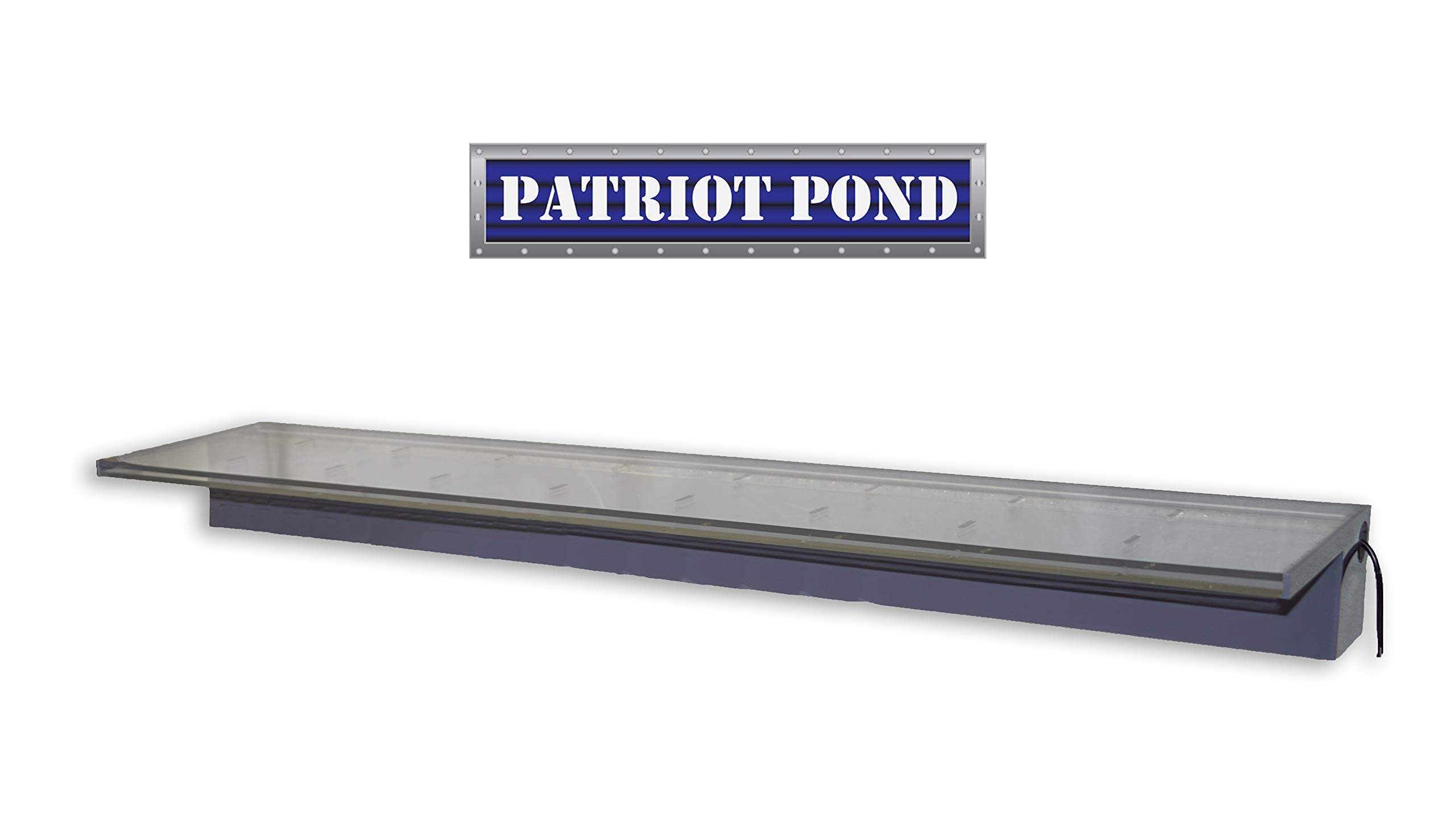 Patriot Sheer Elegance SE24CC Lighted Acrylic Spillway - 24'' Color Changing Spillway by Patriot (Image #6)