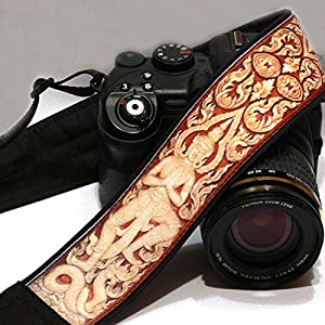 Buddha Camera Strap. Budha Style Camera Strap. DSLR, SLR Camera Strap. Canon, Nikon Camera Strap. Accessories; 058
