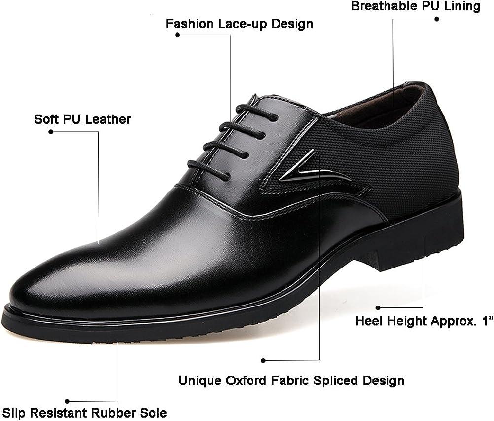 mens black dress shoes wide width