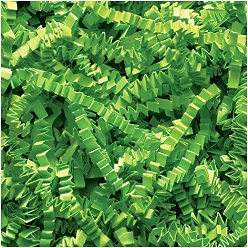 Abc 10 lb Natural Crinkle Cut Eco-Spring Fill, Filler for Gift Baskets and Boxes. 10 lb. Box,