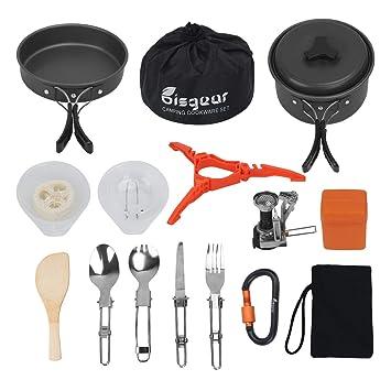 Amazon.com: Bisgear - 12 – 17 piezas de mosquetones de ...