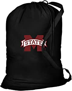Broad Bay Mississippi State Laundry Bag MSU Mississippi State Clothes Bags