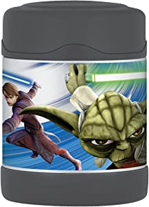 Thermos Funtainer 10 Ounce Food Jar, Star Wars Clone Wars