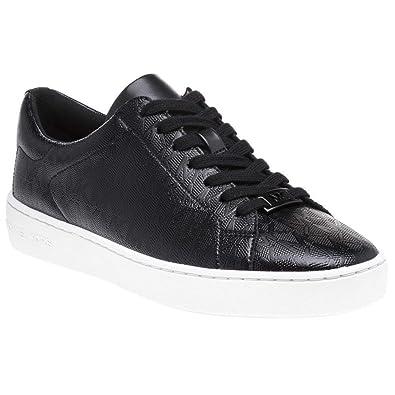 27e3af5d0f9a Michael Kors Keaton Lace Up Trainers Black 7 UK  Amazon.co.uk  Shoes ...
