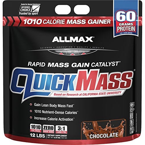 Allmax Quickmass Loaded Vanilla - 12 lbs