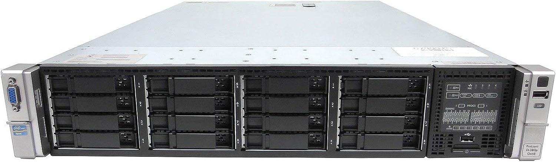 TechMikeNY Server 2.70Ghz 24-Core 640GB 1x 2TB SAS SSD 15x 2TB 12G ProLiant DL380P G8 Renewed