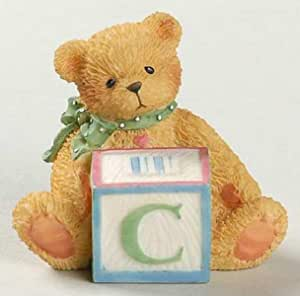 Details about  /Vintage Cherished Teddies T Is For Teddies Bear With ABC W Block Free Shipping