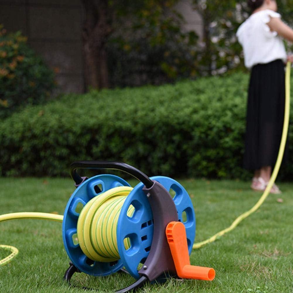 Famus Garden Water Pipe Hose Reel Cart Outdoor Planting Hosepipe Organizer