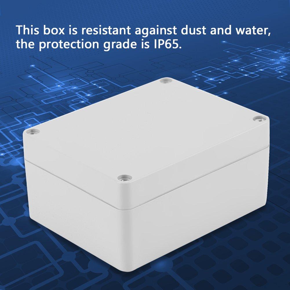 Bo/îtier en plastique IP65 ABS r/ésistant /à leau 158 * 90 * 60mm bo/îtier de projet /électrique Bo/îtier de bo/îtier dinstrument