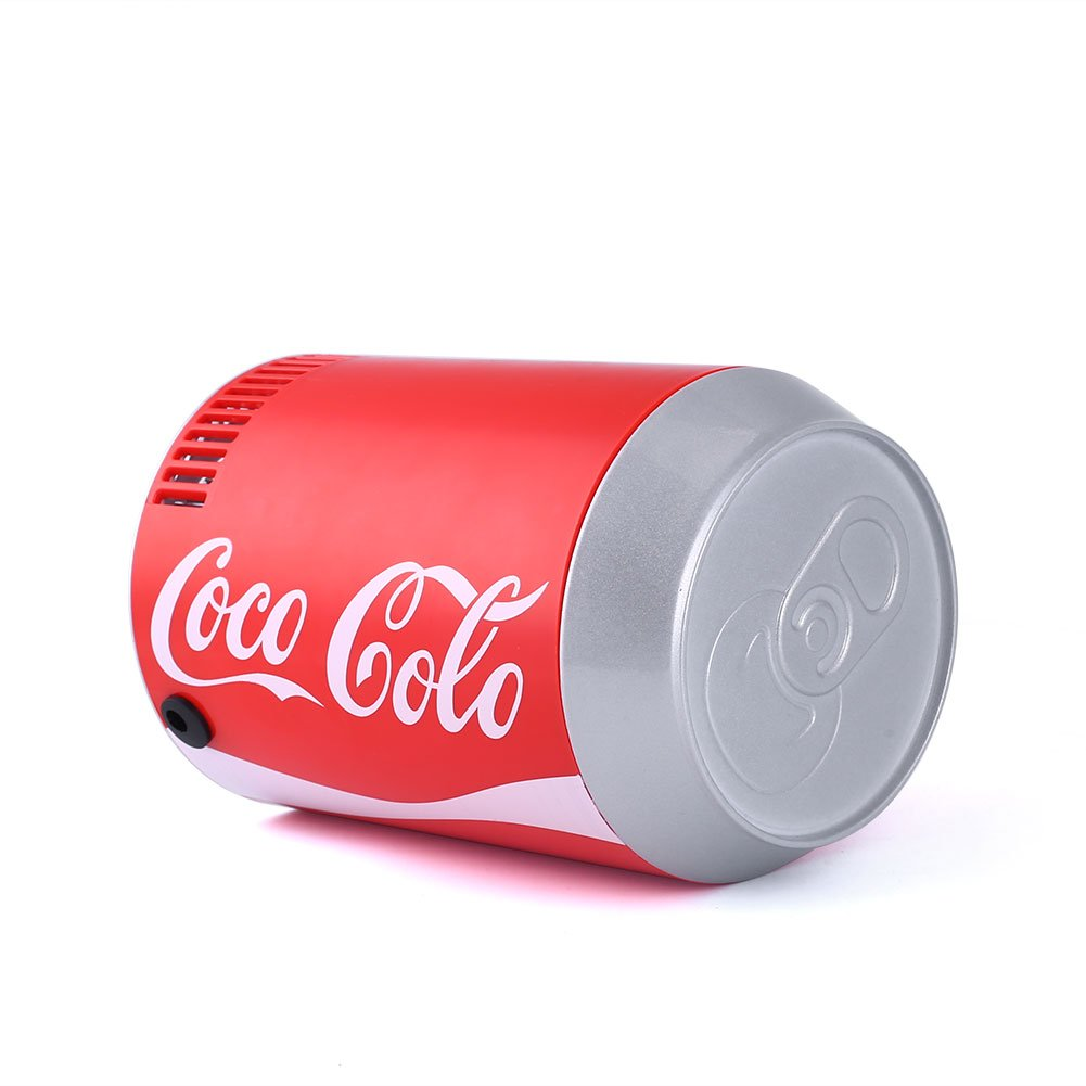 Sedeta Mini Car Refrigerator DC5V USB Auto Coca Bottle Coke Can Portable Beer Beverage Drink Fridge Cooler