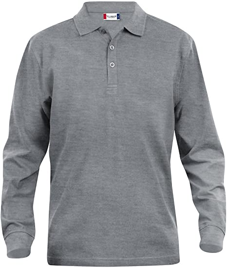 Camiseta polo de manga larga para hombre Clique. Desde S hasta ...