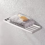 KES Bathroom Single Shelf Towel Rack Wall Mount, Polished SUS304 Stainless Steel, A23010S60