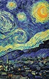 Notebook: Van Gogh's Starry Night Cover, Composition Book, 5 x 8, 40 College Ruled Pages, Matte Cover