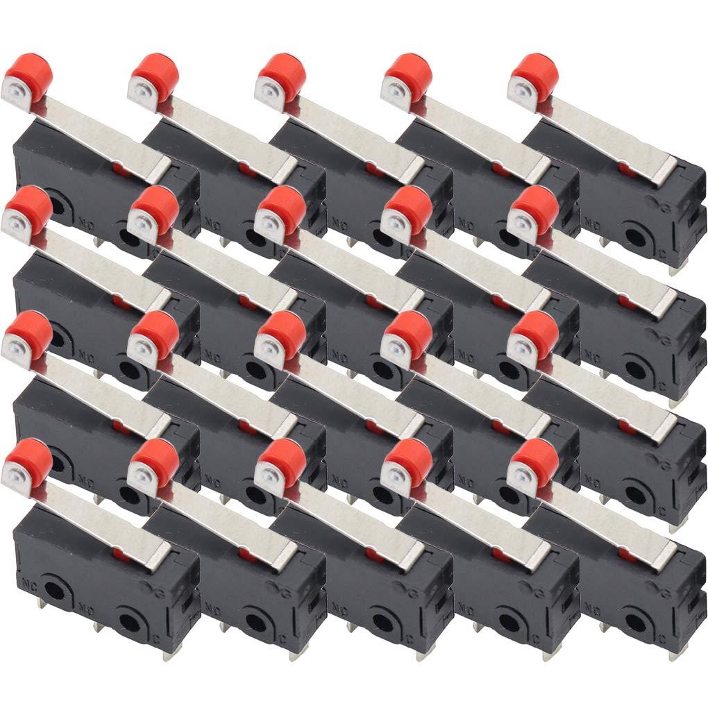 Centurrie Límite 20pcs Interruptor de Rodillo Interruptor Mini ...