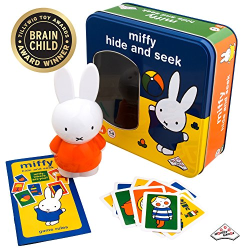 Miffy - Hide and Seek Game - Includes Hint Cards and Doll with -