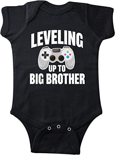 inktastic Leveling Up to Big Sister Baby T-Shirt