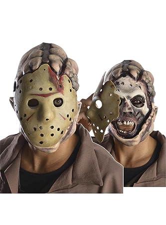 Rubies Jason Voorhees Doble Cara máscara de Viernes la 13