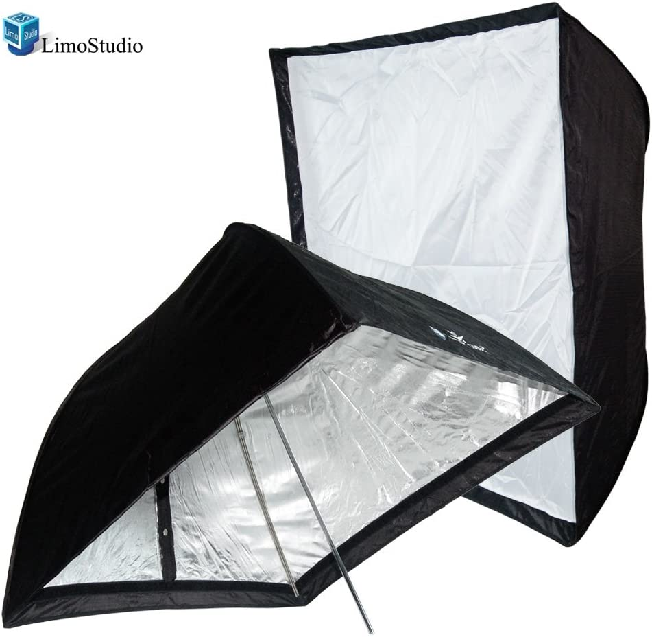 AGG1230 LimoStudio Photo Studio 28x28 Photography Umbrella Softbox Reflector Speedlight for Studio Lighting