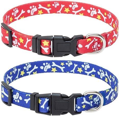 Liberty of London Spring Girl Dog Collar Weather Dog Collar Puppy adjustable dog collar| pet collar |Metal buckle Small Dog Collar