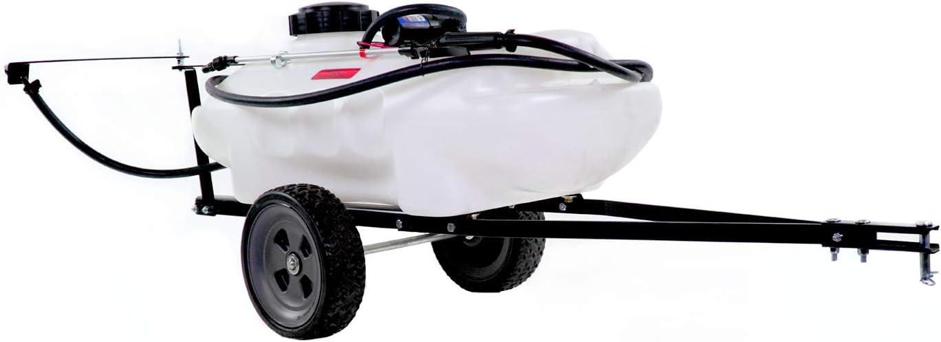 Brinly ST-152BH Tow Behind Lawn, 15-Gallon Garden Sprayer, White
